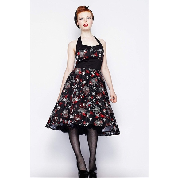 2aaf5fd6535087 Hell Bunny Dresses & Skirts - Hell Bunny Seth Gothic Horror Spider Dress